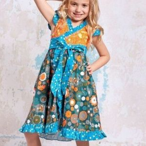 Jelly the Pug Agra Misha Wrap Dress Girls 2T NWT